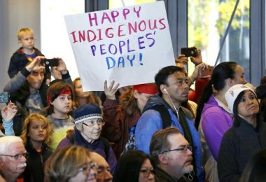 coloumbus day or indigenous peoples day