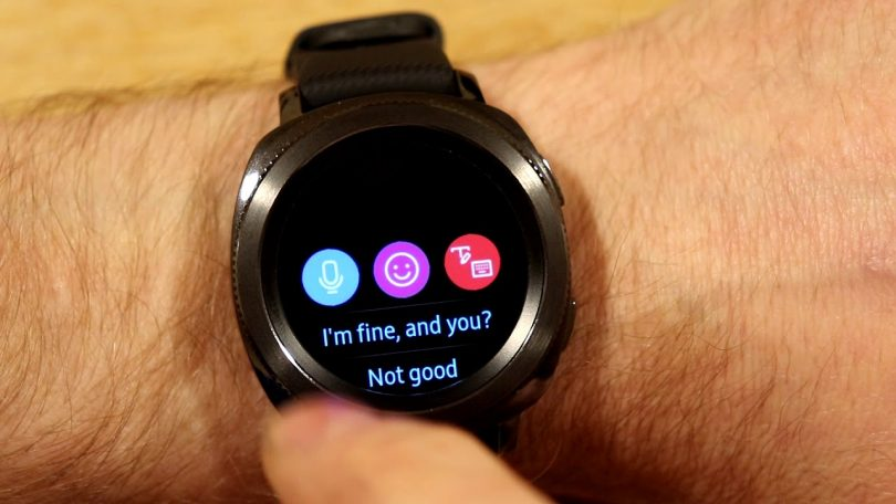 smartwatch you can text on