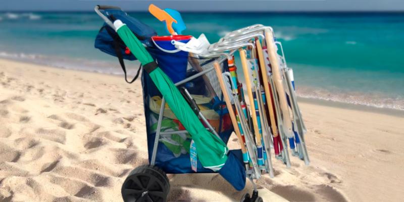 Costco Tommy Bahama All Terrain Foldable Beach