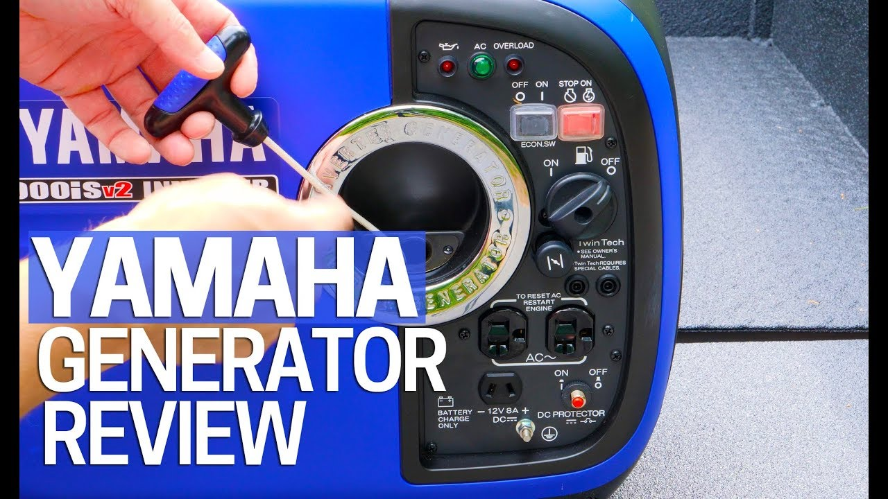 Yamaha EF2000iS Portable Invertor Generator Review
