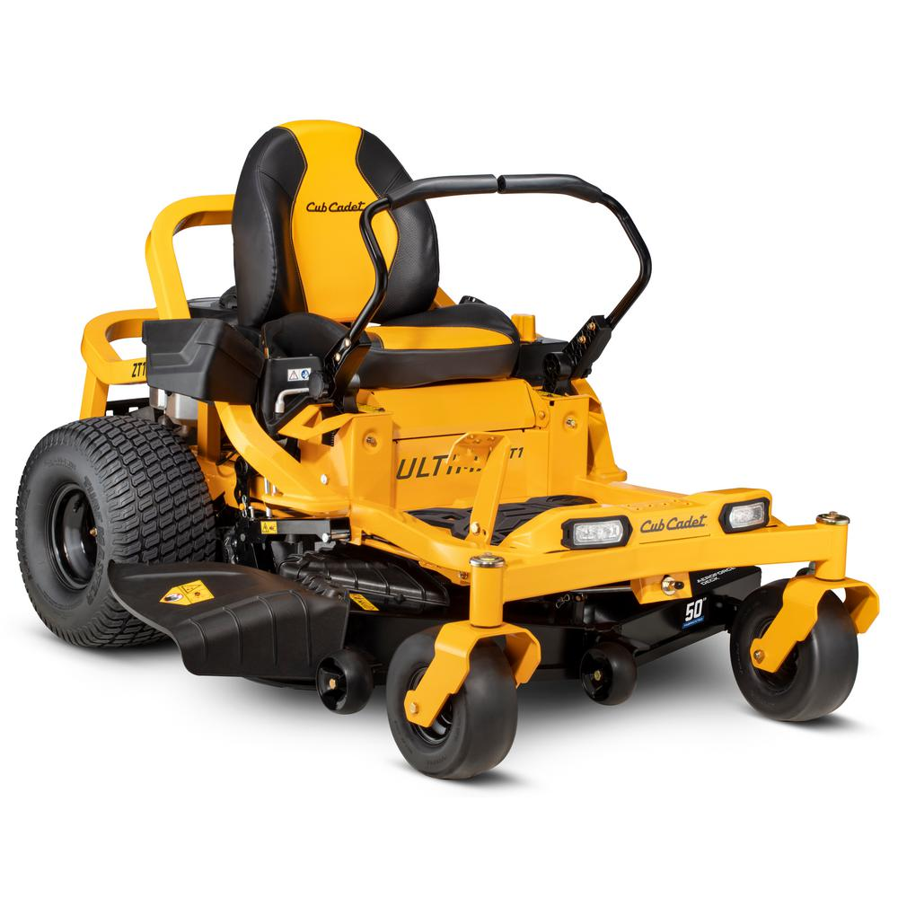 Cub Cadet Ultima ZT1 50 in. Fabricated Deck 23 HP Kawasaki FR Series V-Twin Gas Engine Zero Turn Mower with Lap Bar Control