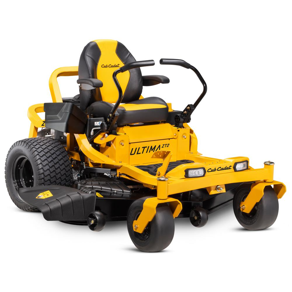 Cub Cadet Ultima ZT2 60 in. Fabricated Deck 24 HP Kawasaki FR Series V-Twin Gas Engine Zero Turn Mower with Lap Bar Control