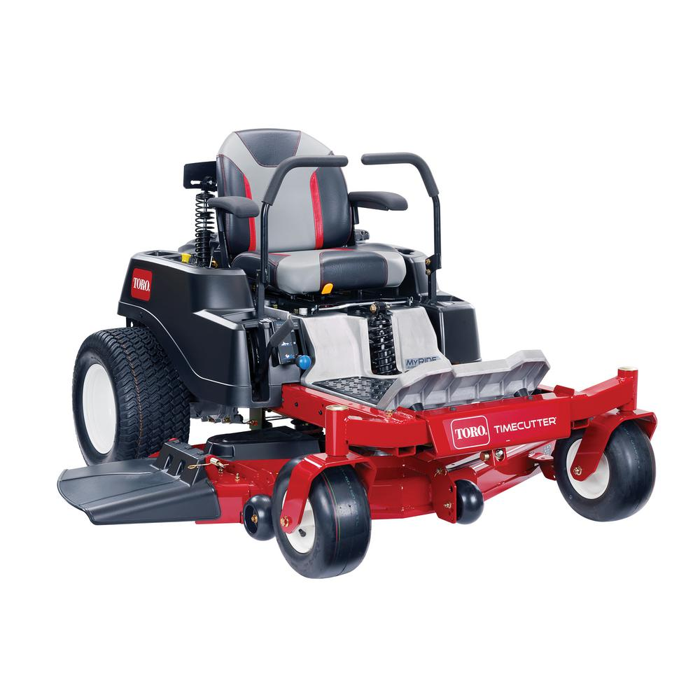 Toro TimeCutter MX5075 with MyRIDE Suspension System 50 in. Fab 24.5 HP V-Twin Gas Dual Hydrostatic Zero Turn Riding Mower