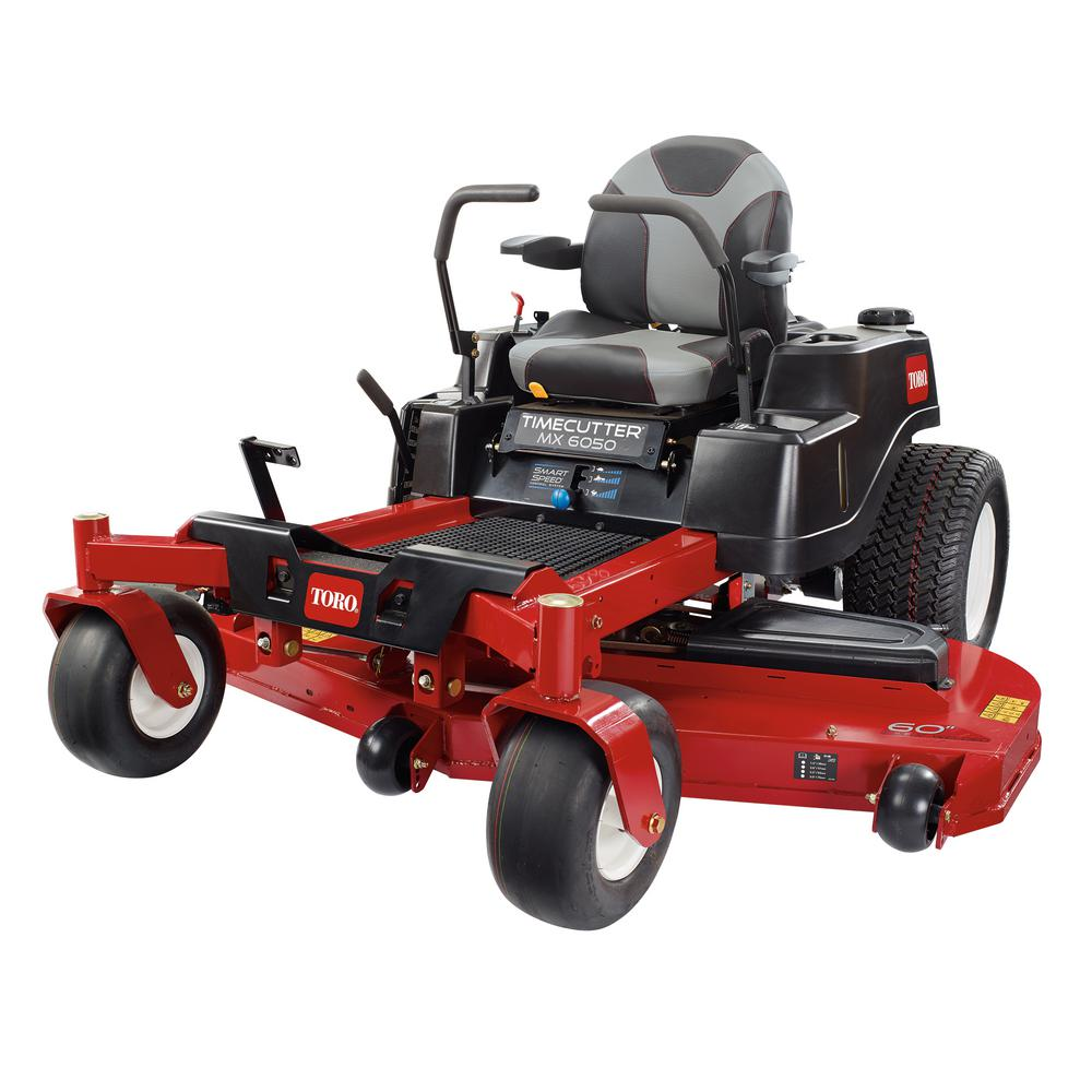 Toro TimeCutter MX6050 60 in. Fab 24.5 HP V-Twin Gas Zero-Turn Riding Mower with Smart Speed