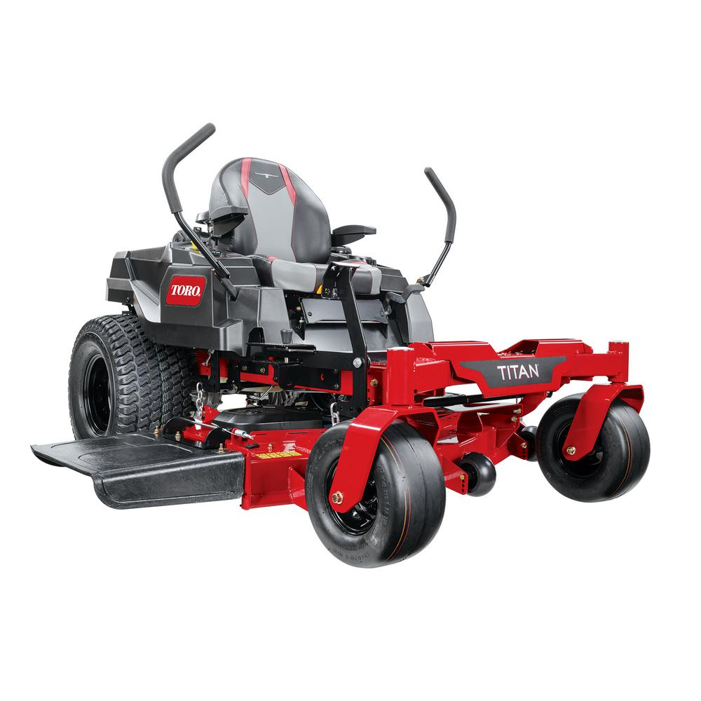 Toro TITAN 48 in. IronForged Deck 24.5 HP Commercial V-Twin Gas Dual Hydrostatic Zero Turn Riding Mower