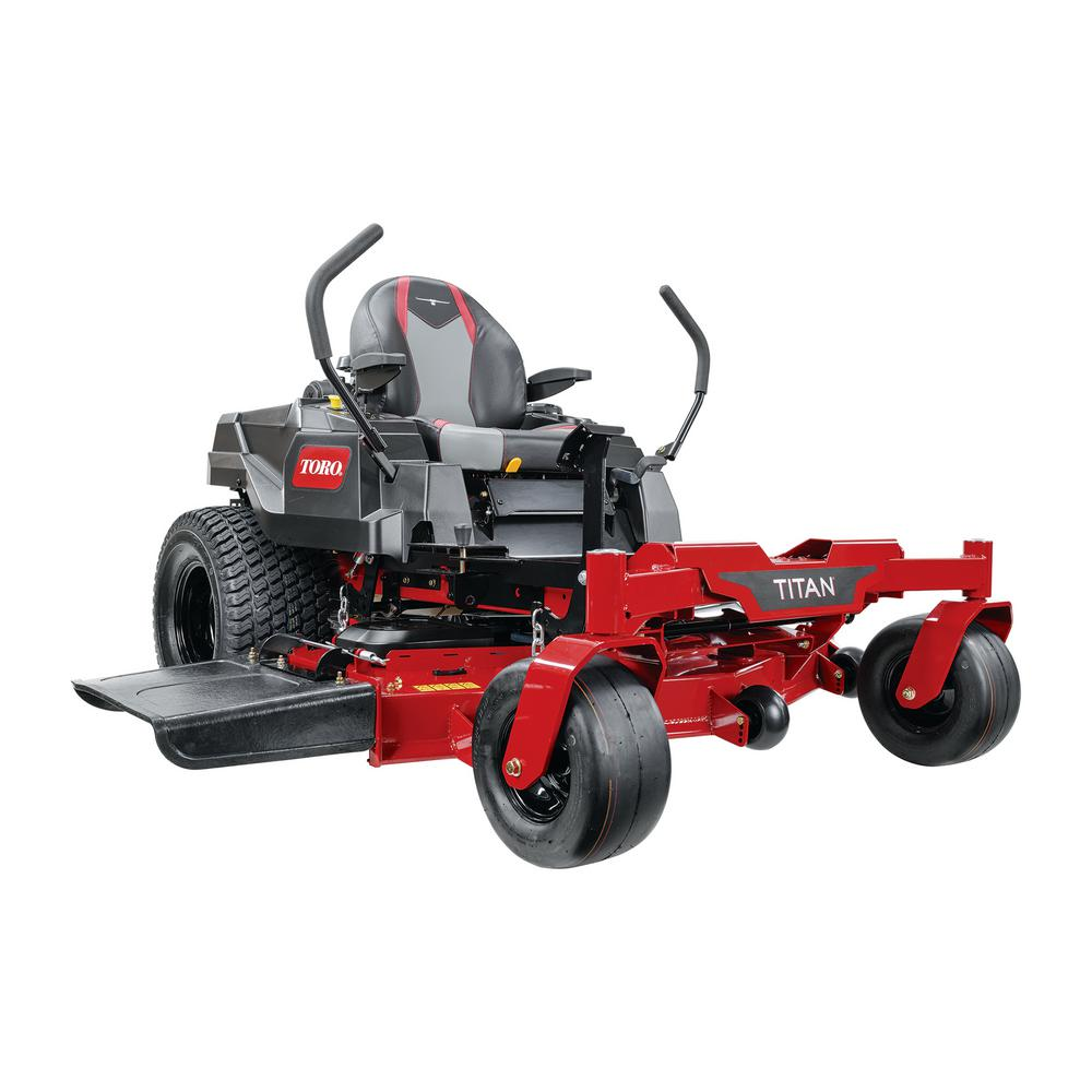 Toro TITAN 54 in. IronForged Deck 21.5 HP Commercial V-Twin Gas Dual Hydrostatic Zero Turn Riding Mower with MyRIDE CARB