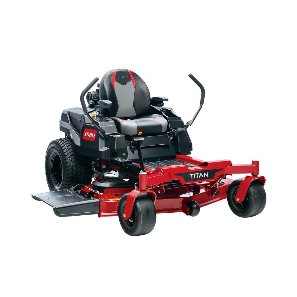 Toro TITAN 54 in. IronForged Deck 24.5 HP Commercial V-Twin Gas Dual Hydrostatic Zero Turn Riding Mower