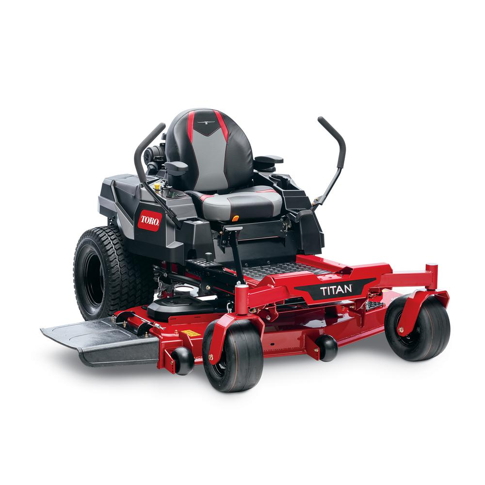 Toro TITAN 60 in. IronForged Deck 24.5 HP Commercial V-Twin Gas Dual Hydrostatic Zero Turn Riding Mower