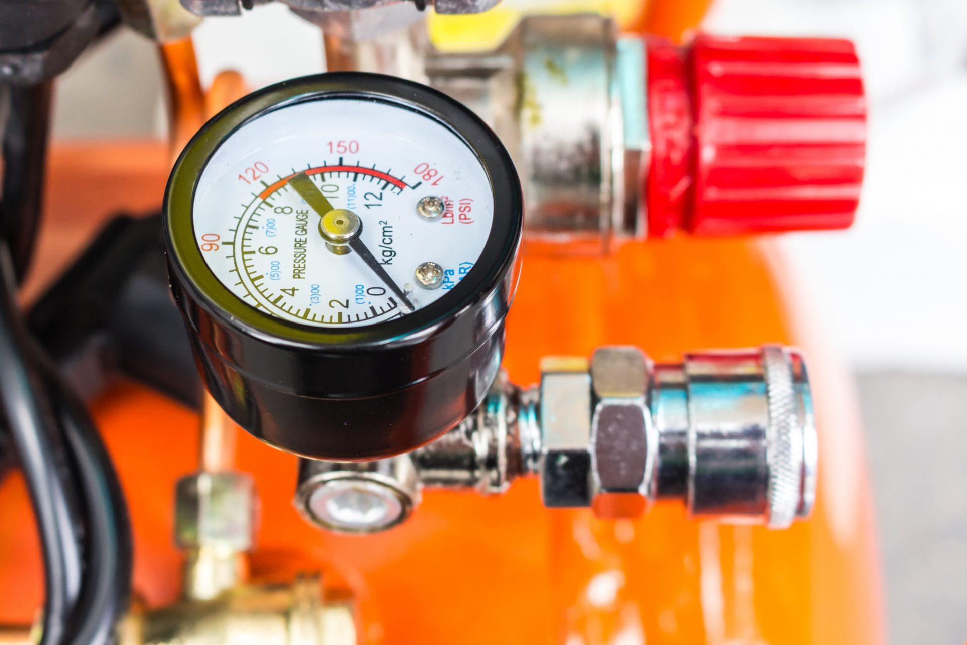 Air Compressor for a Brad Nailer
